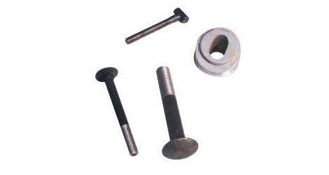 Screws and washers for screens