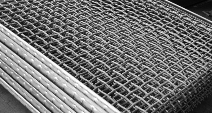 Square mesh screens