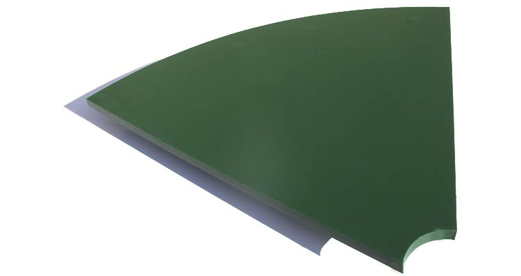 Polyurethane or rubber sheets